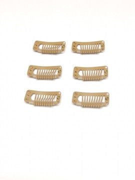 Set of 6 Wig Clips Medium